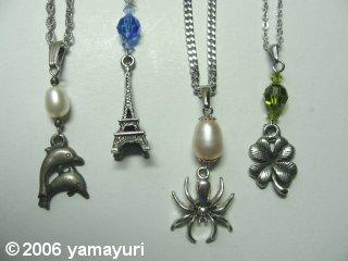 【写真:MFMSワンコインセミナー~Beads Art入門編・ネックレス】